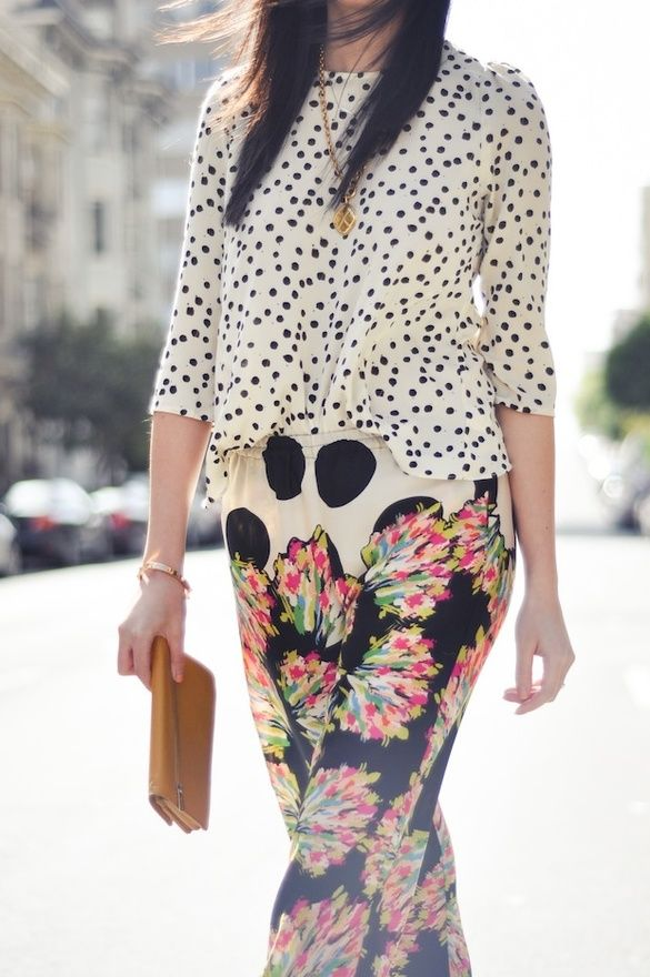 17 Best Images About Fashion Mix Match Patterns On