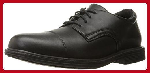 Skechers for Work Men's Gretna Gering Work Shoe, Black, 12 M US