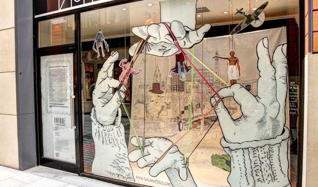 Retail Window Display Ideas | Unique in Birmingham' Retail Display Initiative - Barber Design