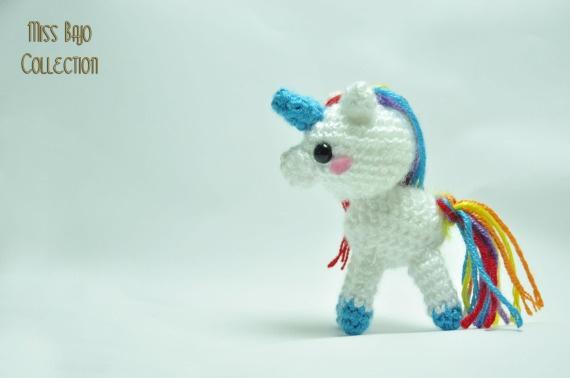 Unicornio, Crochet, Amigurumis