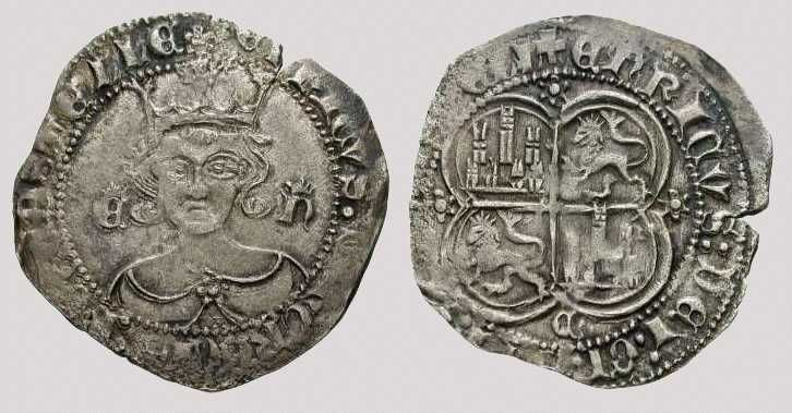 Real de vellón, 1369