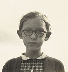 A Young Girl in Ennis, Ireland, Dorothea Lange, 1954. © Oakland Museum of California, the City of Oakland
