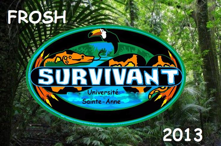 Je pense que le thème de Suvivant pourrait être très intéressant et que ça permet la créativité pour notre semaine de frosh 2013 !