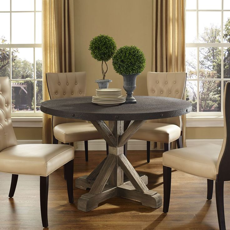1000+ Ideas About Rustic Dining Tables On Pinterest