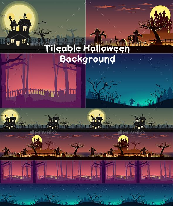 Tileable Halloween Game Background With Images Game Background