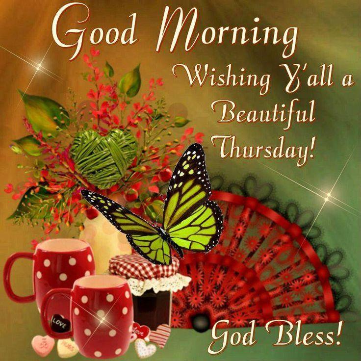 Good Morning, Beautiful Thursday