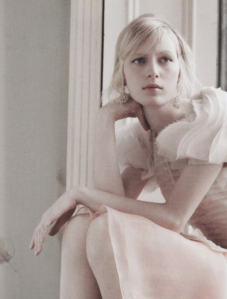 Julia Nobis in 'Sweet Child Of Mine' by Luke Irons for Harpers Bazaar Australia May 2012