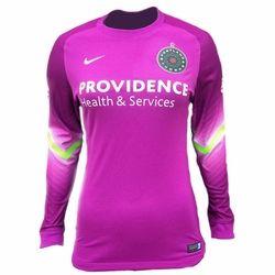 Nike Women's Goalkeeper Long Sleeve Jersey - Purple