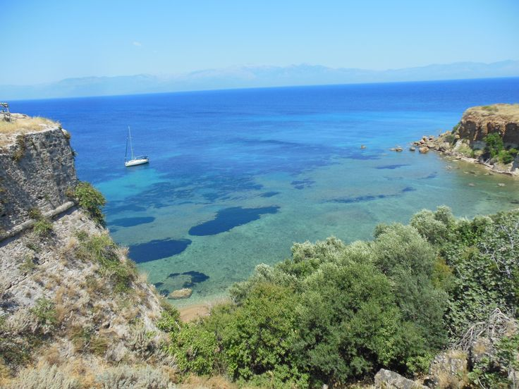 the coast of Koroni, Greece