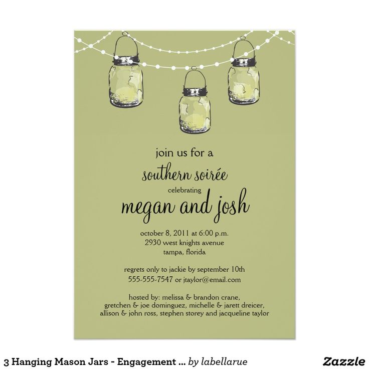 799 best WEDDING ENGAGEMENT PARTY Invitations images on Pinterest - engagement party invites templates
