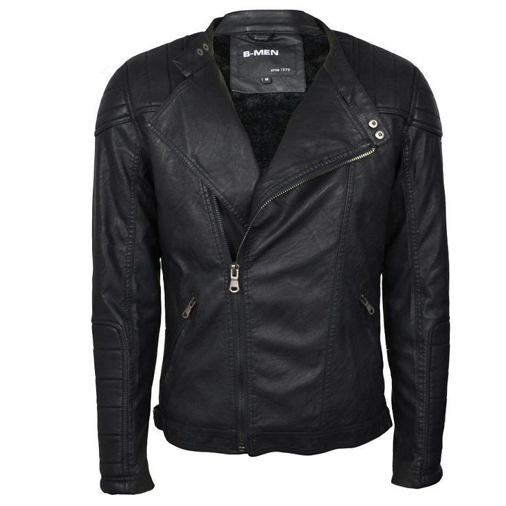 Biker jacket €49,99 http://mymenfashion.com/biker-jacket-skew-zipper.html