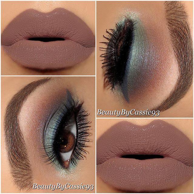 I love the lipstick color!
