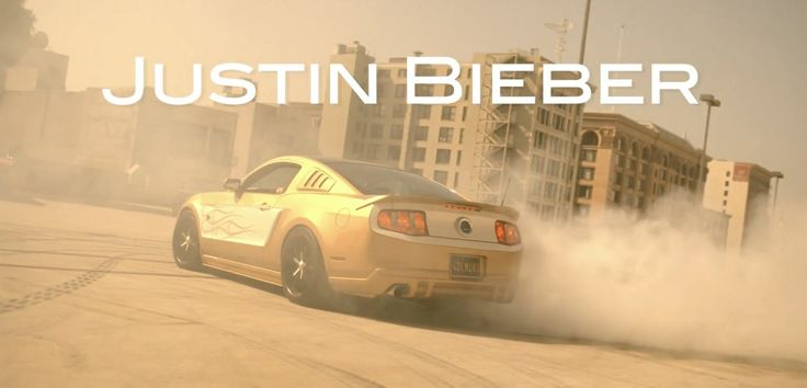 Ford Mustang (2012) car in BOYFRIEND by Justin Bieber (2012) #ford