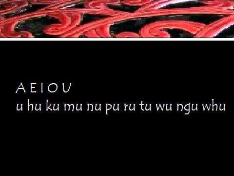 Maori Alphabet (Arapū) - YouTube