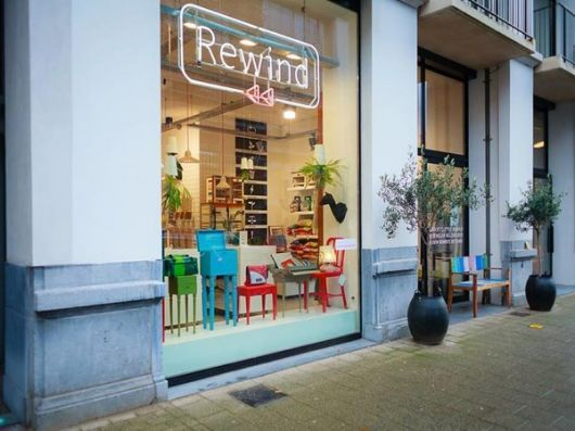 Rewind Ecodesign Antwerp (by Rewind Ecodesign)located in the coolest street in town, the 'Kloosterstraat'