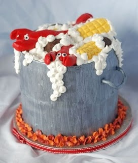 1000 Ideas About Lobster Cake On Pinterest Fondant