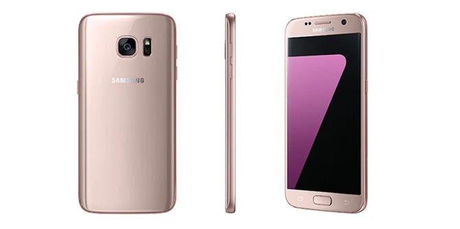 Galaxy S7 w kolorze różowego złota. #smartfon #galaxy #samsung http://dodawisko.pl/8815-galaxy-s7-w-kolorze-rowego-zota.html