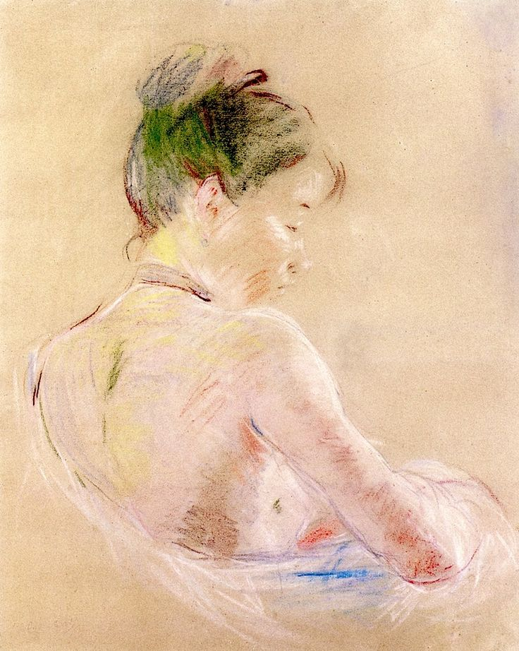 Berthe Morisot - Girl with Bare Shoulders