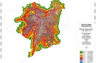 Chile: Mapa del Ruido revela zonas con mayor contaminación acústica del Gran Santiago - VeoVerde