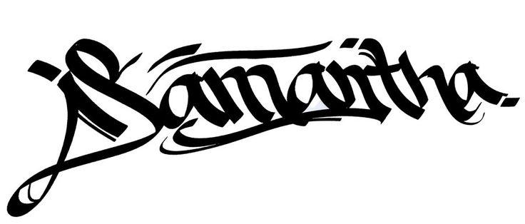 Samantha Name Tattoo Samntha Graffiti Tattoo Design Graffiti Tattoo Graffiti Names Samantha Name
