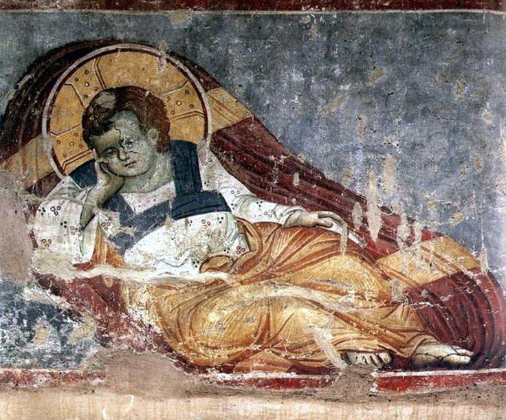 Πανσέληνος Μανουήλ-Χριστός Αναπεσών, 14ος αιώνας