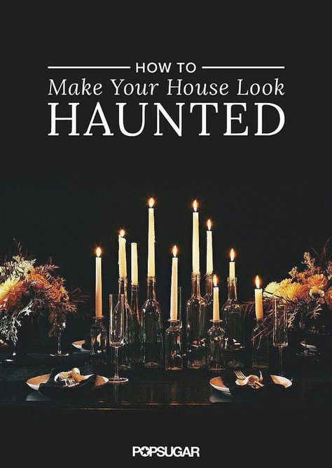 11 Ways to Make Your House Look Haunted Halloween party 2018