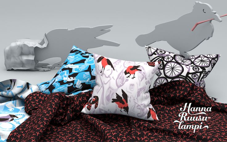 The Birds of the Landfill - collection / Design: Hanna Ruusulampi