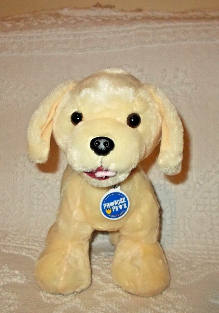 Build A Bear Promise Pets Yellow Labrador Lab Puppy Dog Stuffed