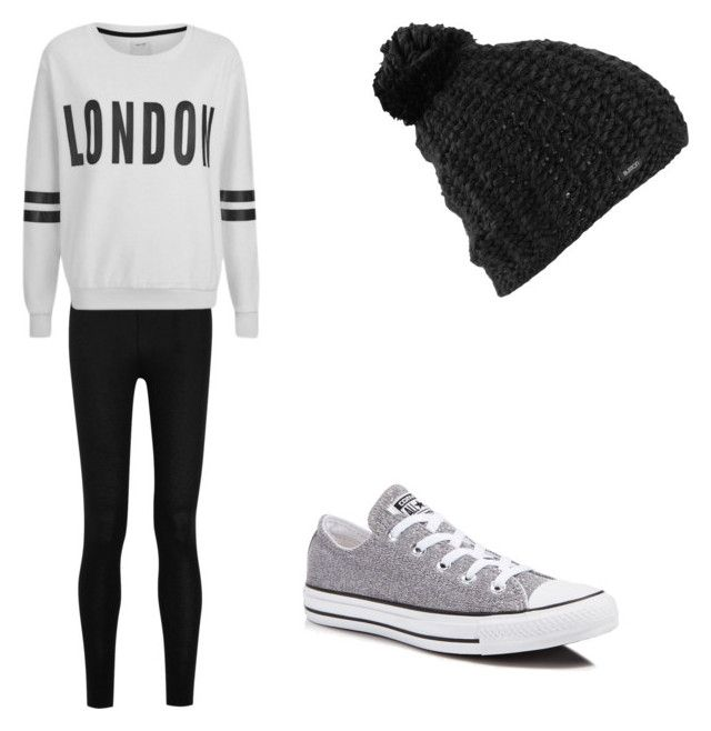 Sin título #126 by fashiongirl-cdxx on Polyvore featuring moda, ONLY, Donna Karan, Converse and Burton