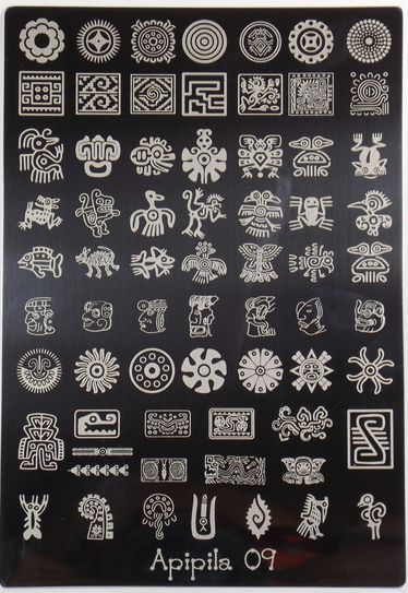 Plaque stamping Apipila 09 http://parlezenauxcopines.free.fr/stamping-nail-art.html  Livraison dans le monde GRATUITE dès 80€ d'achat Worldwide Shipping FREE from 80€.