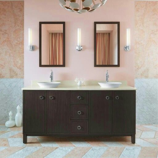 Theres Plenty Of Storage For Two In The Kohler Jacquard Tailored Vanity