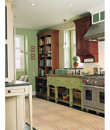 using thrifted refurbished finds   Photo: David Prince | thisoldhouse.com | from Editors' Picks: Our Favorite Kitchens Ever