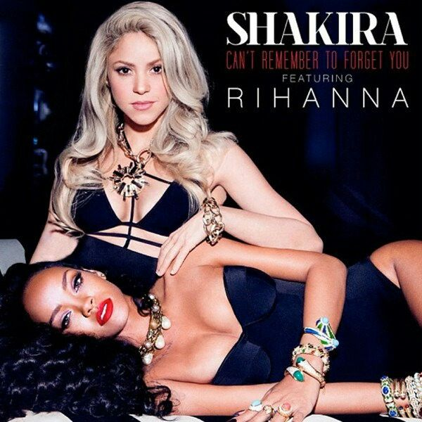 "#89 - A song I like to work out to.  ""Can't Remember To Forget You"" by Shakira ft. Rihanna, because is a catchy song and I think about my love life while listening to it and that makes me forget that I'm working out, so I don't get so tired."