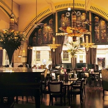 The famous caf americain is already from the beginning for Famous art deco interior design