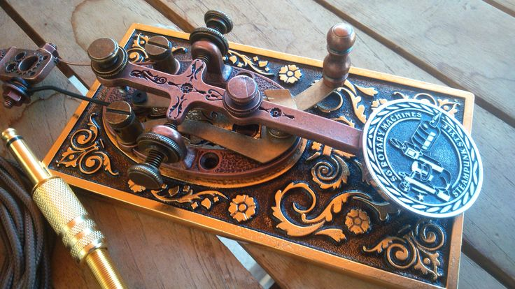 steampunk foot pedal