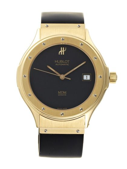Hublot Stainless Steel & Diamond Watch, 37mm by Hublot at Gilt