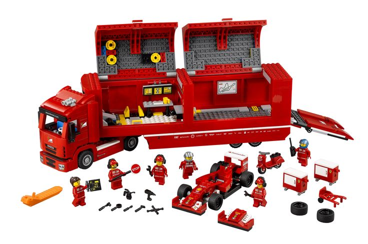 LEGO Speed Champions Scudderia