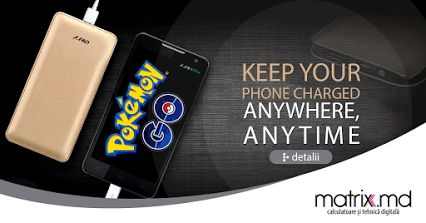 Pokemon & Power Bank
