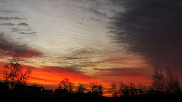 World Through my Photos: SPECTACULAR NORWEGIAN WINTER SUNRISE