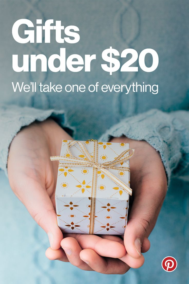 """Browse and buy unique products directly on Pinterest every day. Our Gifts collection has over 200 items, all under $20, hand selected by our in-house editors. See something you love? Tap """"Buy it"""" and it's yours in 60 seconds or less, without ever leaving the app. Happy shopping!"""