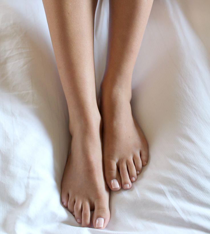 Pale Pink Pedicure