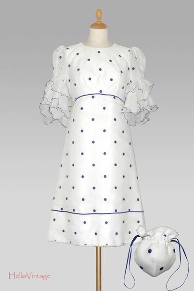 60er Vintage wedding dress
