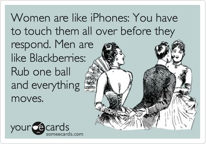 Men n their balls: Couples Humor, Ball, Awesome, Real Women, Bahahahahahahahaha, Iphone, So Funny, Funnies Stuff, Men Vs Women