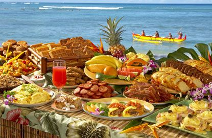 Hawaiian food buffet states buffet hawaiian for Buffet cuisine en pin