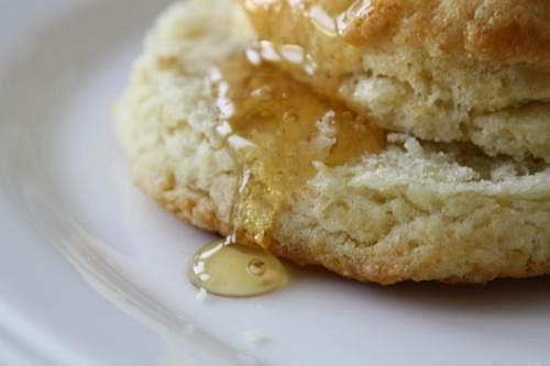 biscuits and honey
