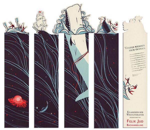 Bookmark design by pietari posti for felix jud bookshops for Design personalizzato