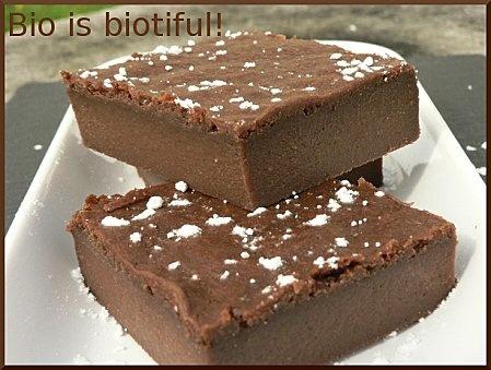 Fondant au chocolat et au tofu soyeux