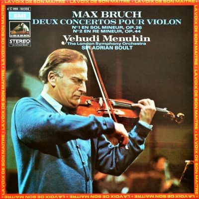 Music is the Best: Yehudi Menuhin Two Violin Concertos by Max Bruch