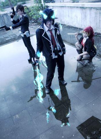 Yukio  Rin  Shura   Ao no Exorcist #cosplay #anime #manga