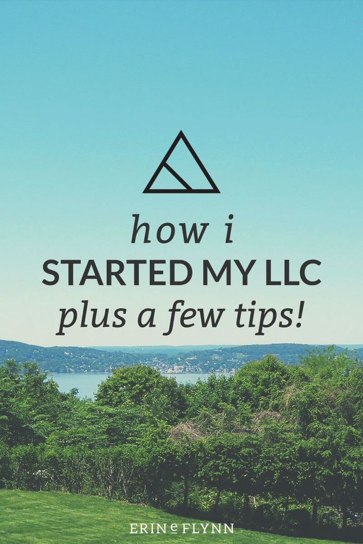 When I started in business I started as a sole-proprietor, but after a while I decided it was time to establish myself as an LLC. Click through to read about how I did that.